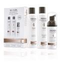 Nioxin System Kit 4 pro jemné chemicky ošetřené a výrazně řídnoucí vlasy