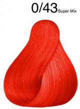 Wella Koleston Perfect barva 0/43 Mixtón měděná zlatá 60ml