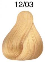 Wella Koleston Perfect barva 12/3 speciální blond zlatá