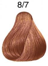 Wella Koleston Perfect barva 8/07 světlá blond přírodní hnědá 60ml