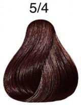 Wella Koleston Perfect barva 5/4 světle hnědá měděná 60ml