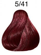 Wella Koleston Perfect barva 5/41 světle hnědá měděná popelavá 60ml