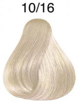 Wella Koleston Perfect barva 10/16 intenzivní světlá blond popelavá fialová 60ml