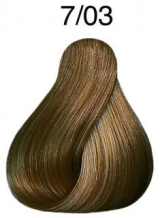 Wella Koleston Perfect barva 7/3 středně blond zlatá 60ml