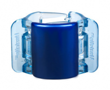 Linziclip Střední skřipec MIDI - perleťově modrý