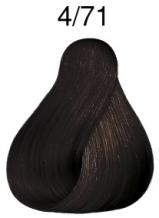 Wella Koleston Perfect barva 4/71 středně hnědá blond popelavá 60ml